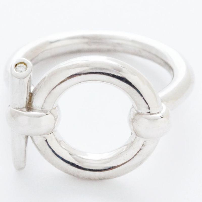 door knock ring / silver,gold
