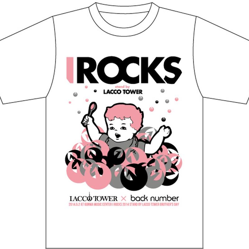 IROCKS 2014 T-SHIRT 「Brother」 White