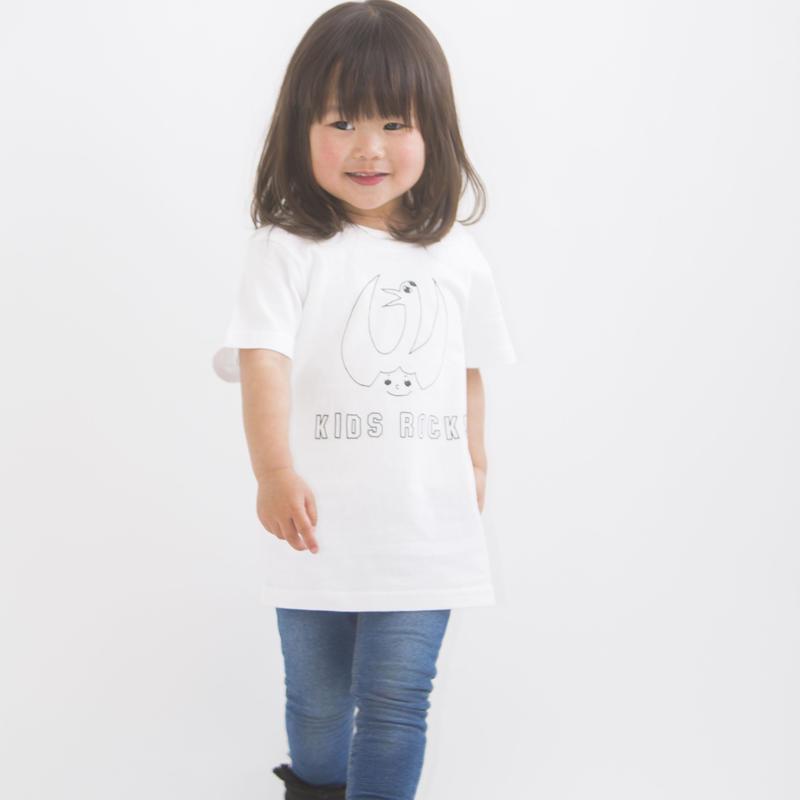 「KjWHITE」KIDS Tシャツ