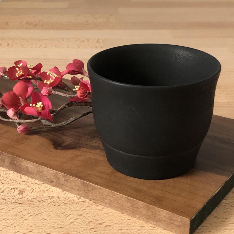 炭漆 フリーカップ