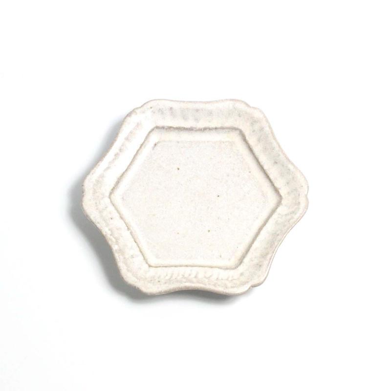 六角皿 小 / 河上奈未