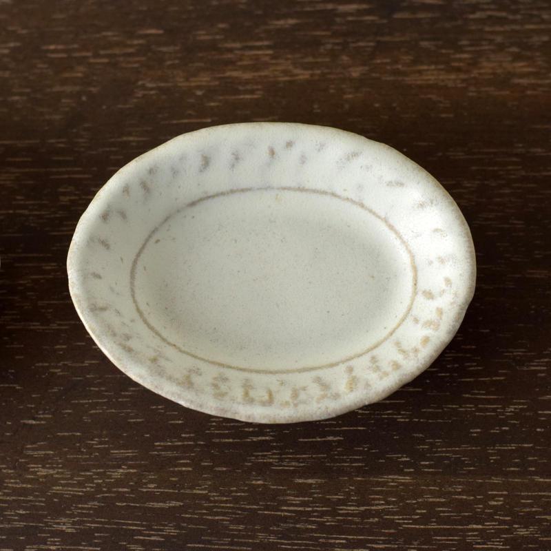 豆皿 楕円 / 河上奈未