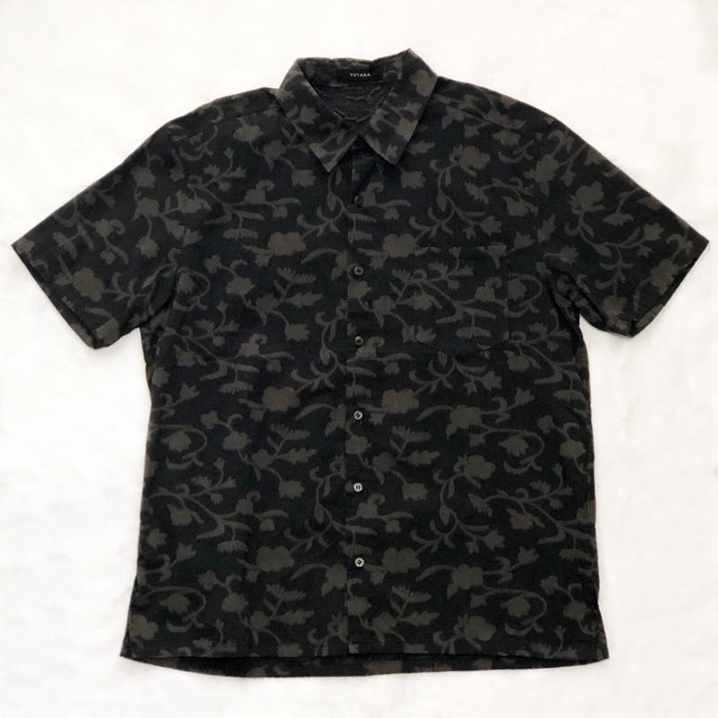 バティック カットジャガード 半袖シャツ
