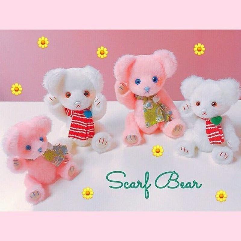 スカーフベア(大)/Pink