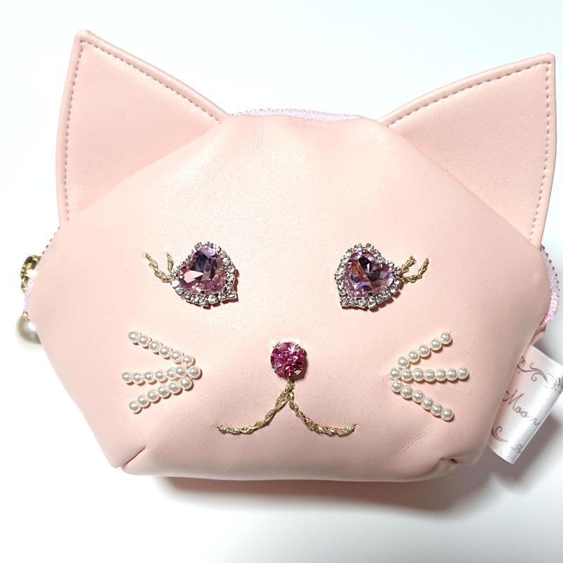 猫ちゃんポーチ/ピンク