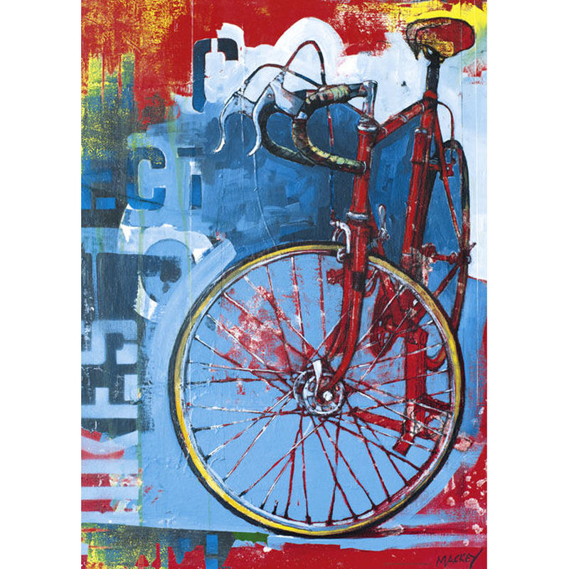 29600  Catharine Mackey : Bike Art - Red Limited