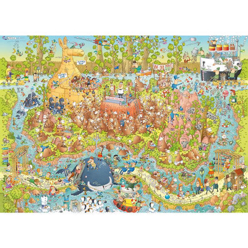 29870  Marino Degano : Funky Zoo, Australian Habitat