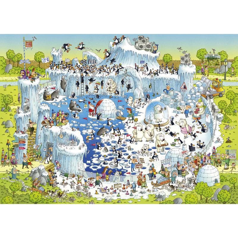 29692  Marino Degano : Funky Zoo,  Polar Habitat