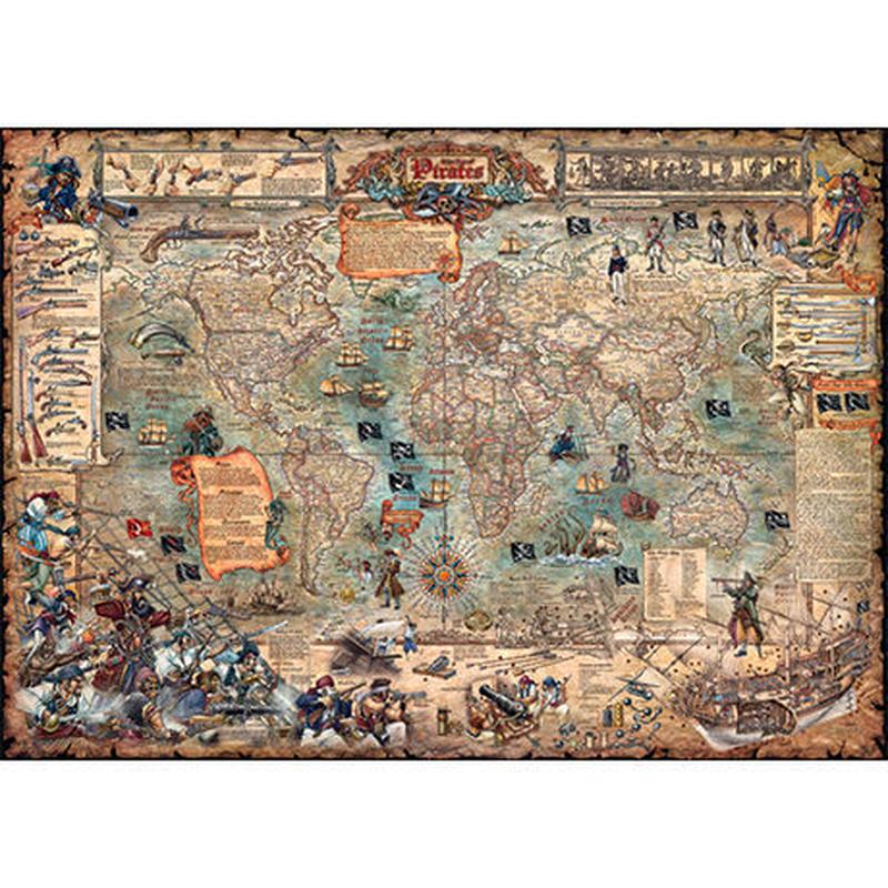 29526  Rajko Zigic : Pirate World (3000ピース)