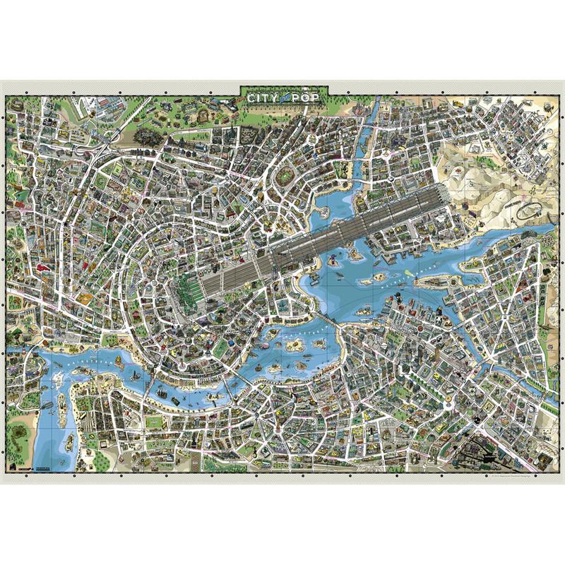 29759  Bayerischer Rundfunk (Designliga) : City of pop (3000ピース)