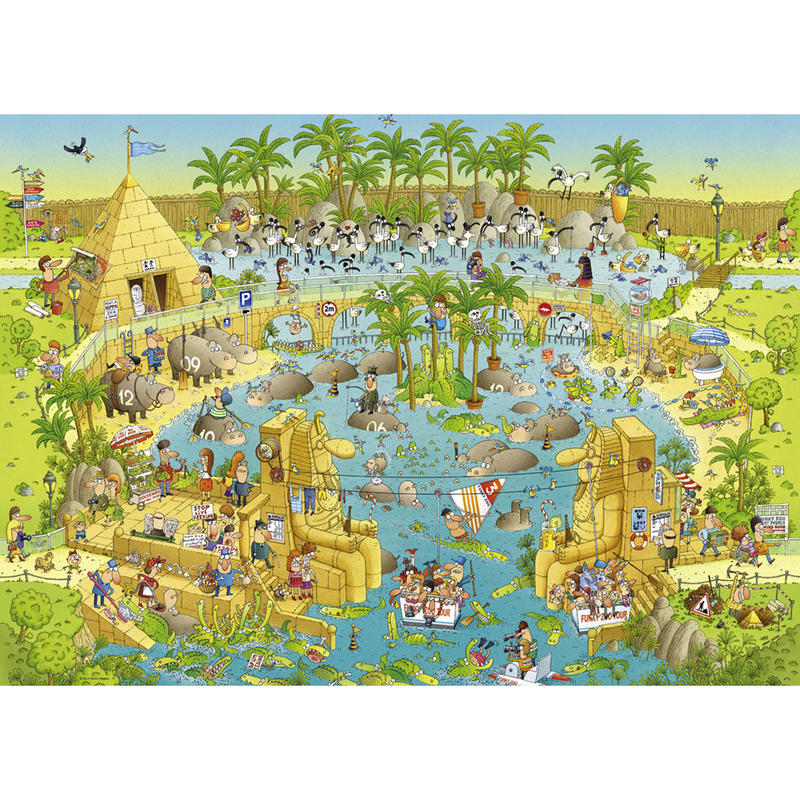 29693  Marino Degano : Funky Zoo, Nile Habitat