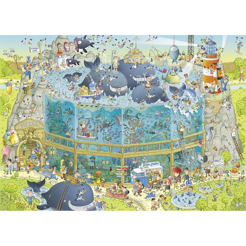 29777  Marino Degano : Funky Zoo, Ocean Habitat