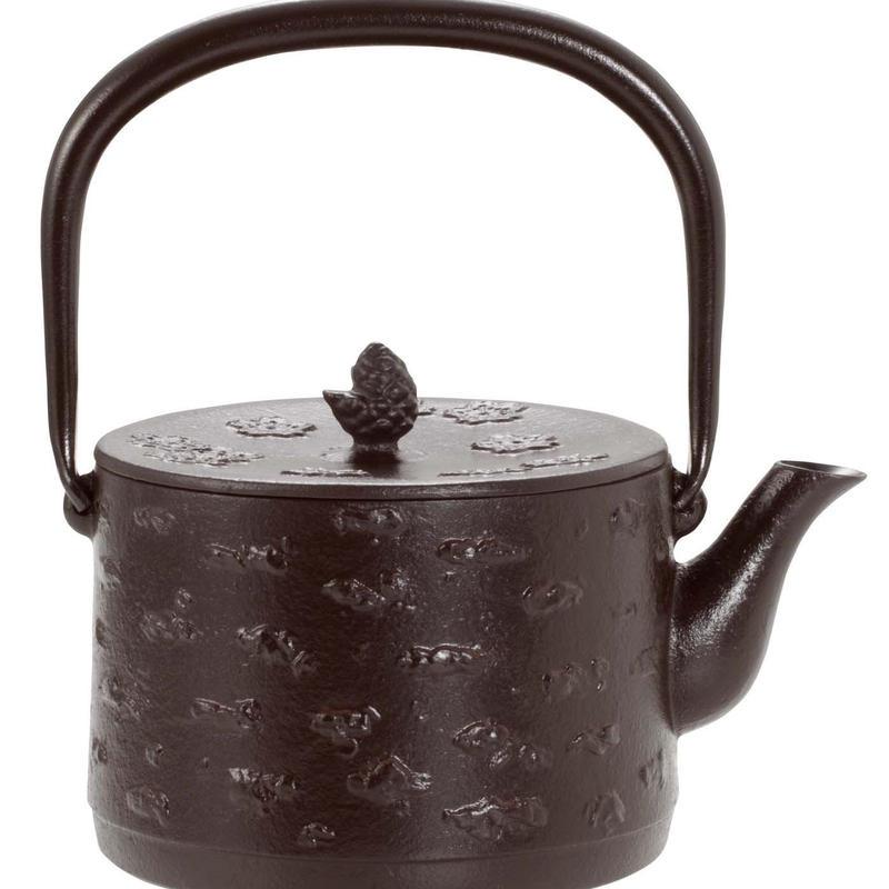 鉄瓶 桜皮寸筒