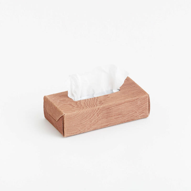 plywood leather tissue box case