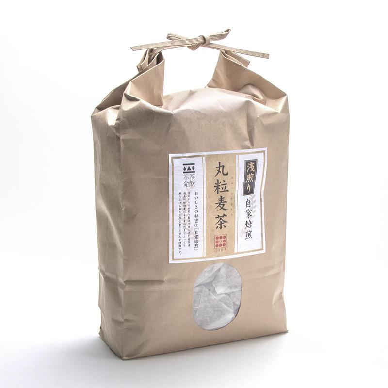浅煎り丸粒麦茶三角ティーバッグ(15g×60p)