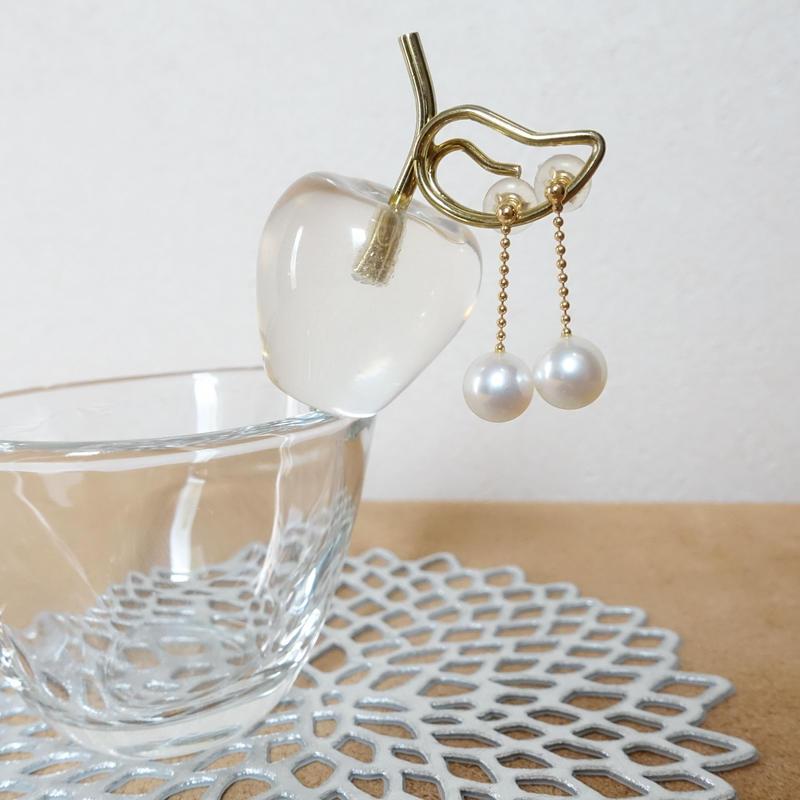 8.0mm~8.5mmAkoya Pearl Earrings