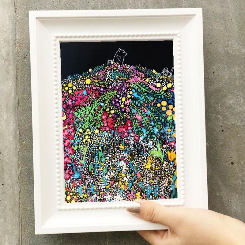 Flower garden (An Asura  Series) 花畑の頂上(シュラさんシリーズ)