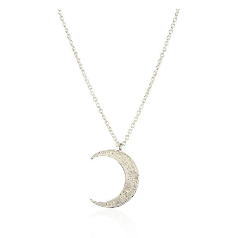Crescent moon necklace silver (クレセントムーン ネックレス シルバー)