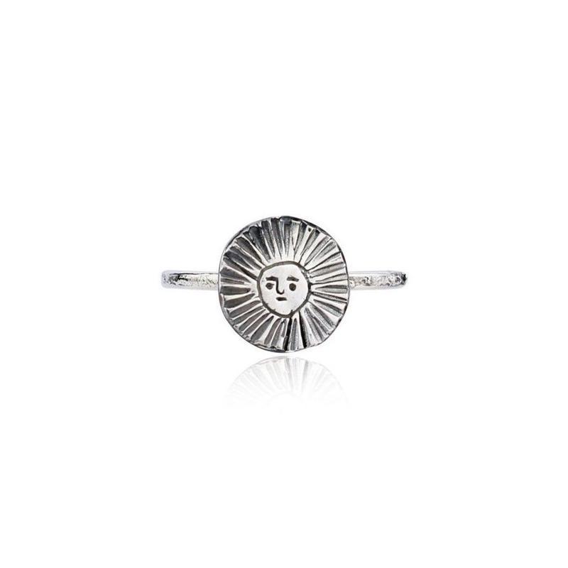 Sun disc ring silver (サンディスクリング シルバー)