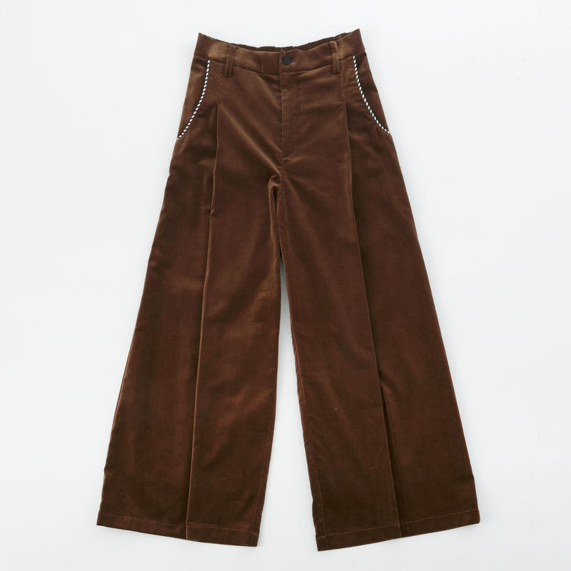 Velor Wide  Pants