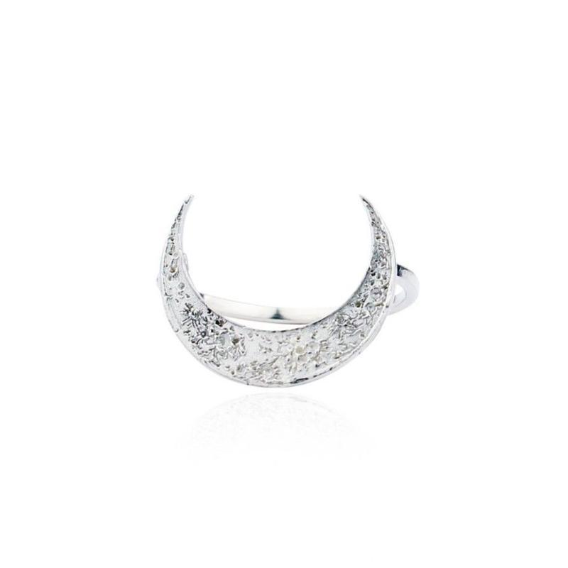 Crescent moon ring Silver (クレセントムーンリング シルバー)