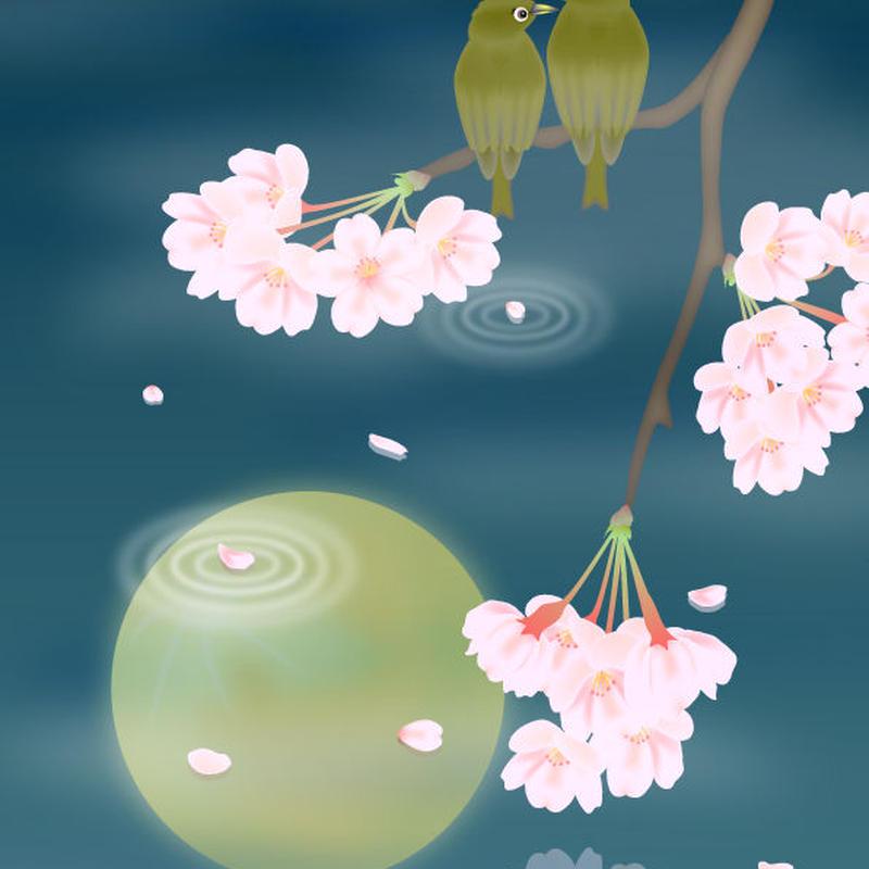 A4イラスト084 桜音水月(さくらねみづき)