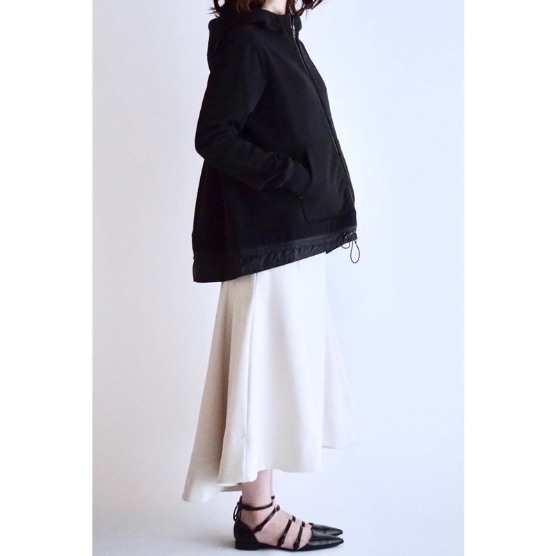 ドローコードAラインジャケット/ブラック(1805301)