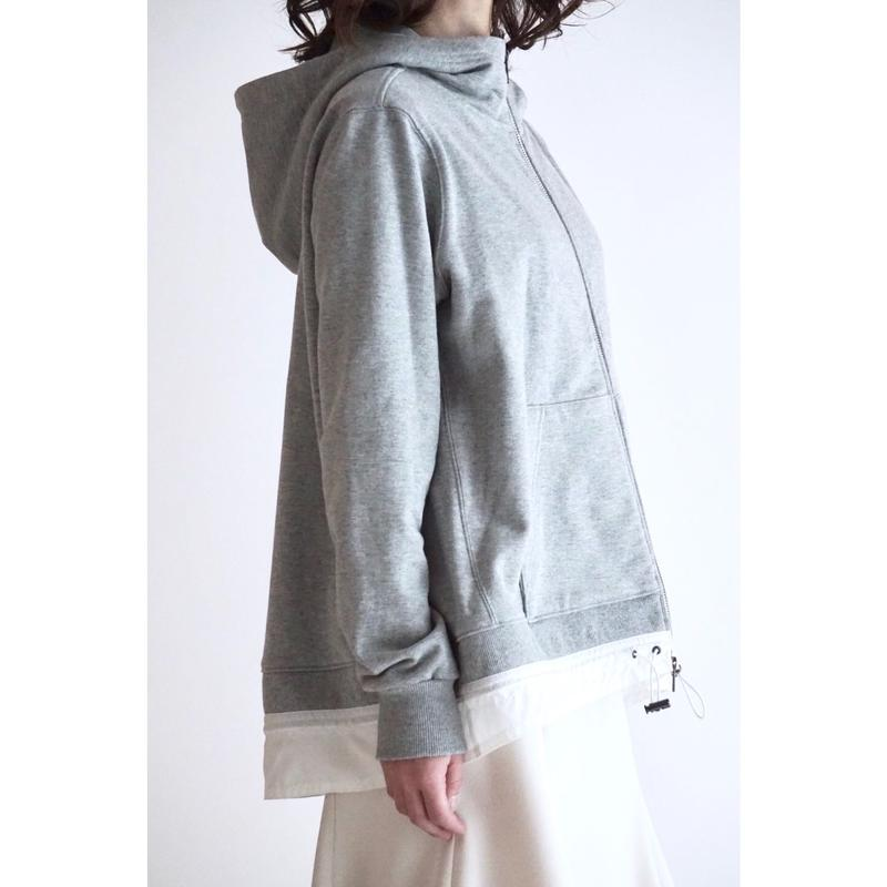 ドローコードAラインジャケット/グレー(1805301)