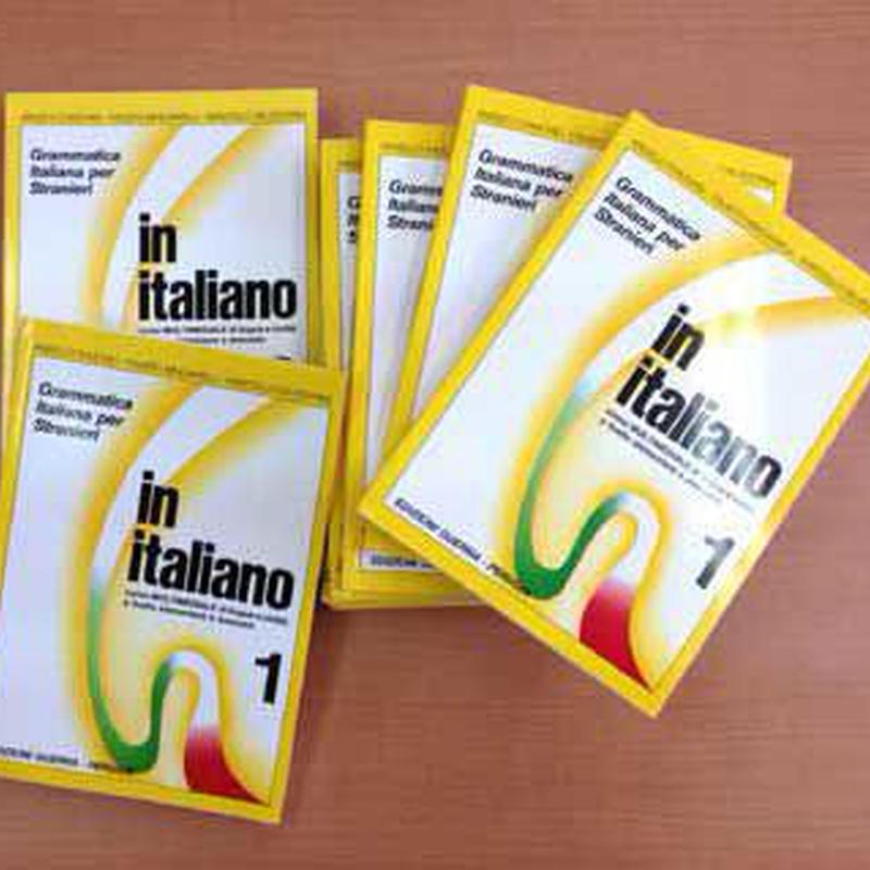イタリア直輸入「イタリア語テキスト」:in italiano 1
