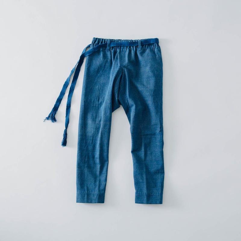 [ハレギたつけ]コットン/藍染手織りデニム【フルオーダーのみ】