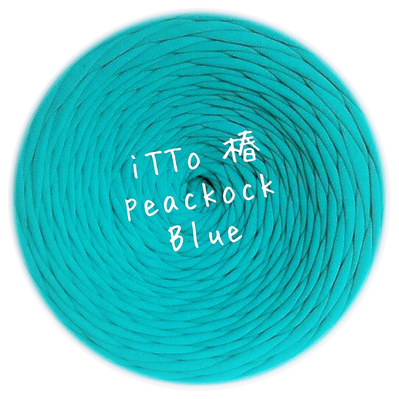 iTTo 椿 peackock Blue 1,850円