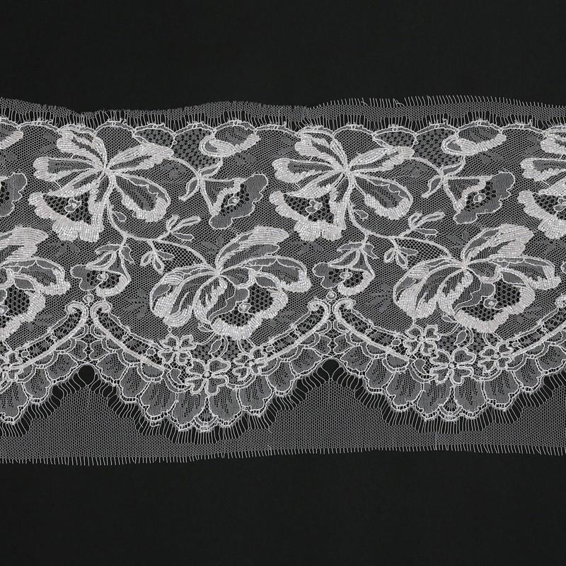 French Leavers Lace 184101.1/21 RI2114  ECRU