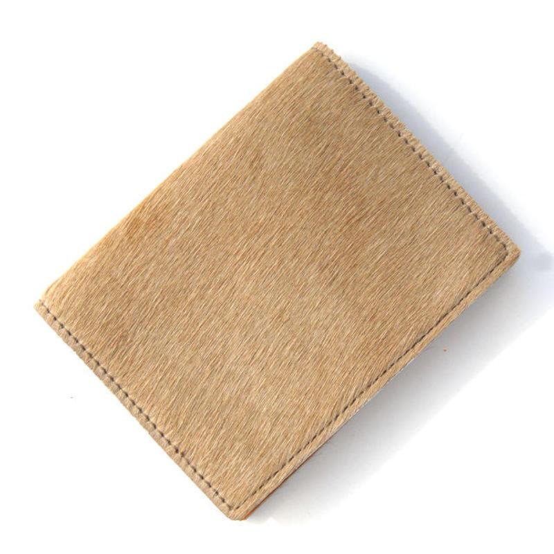 Harako card caset/Camel (ハラコ名刺入れ)