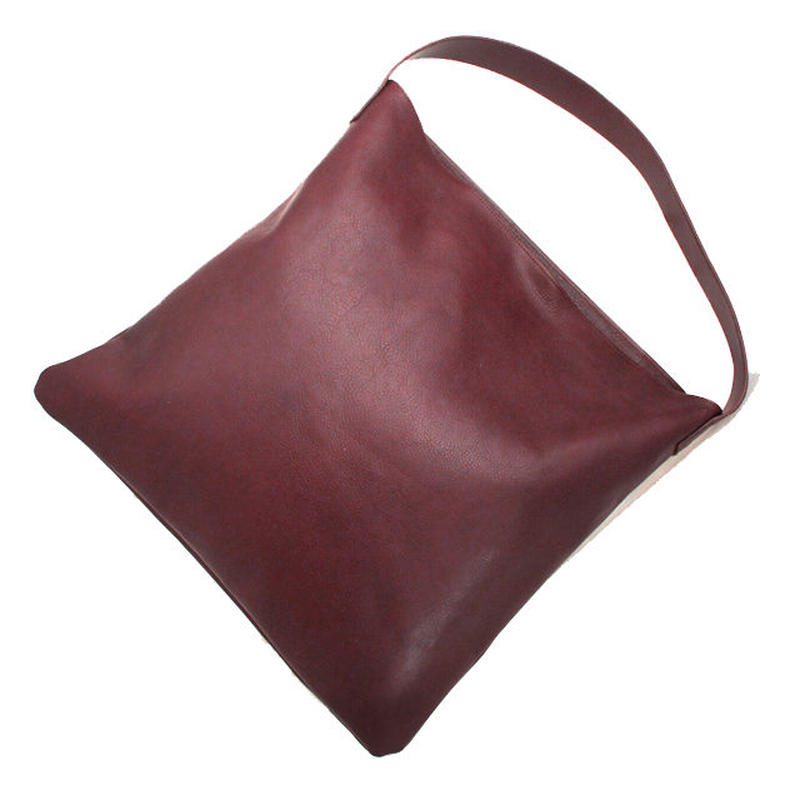 Shoulder Tote Bag/Dark brown