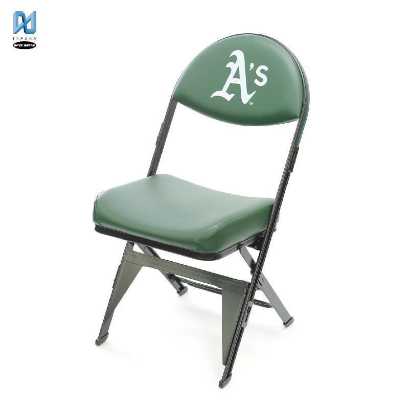 MLB公式ライセンスプレミアム折畳みチェア オークランド アスレチックス
