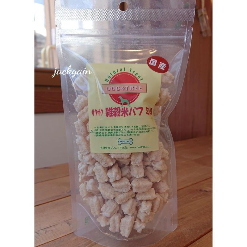 サクサク雑穀米パフミルク