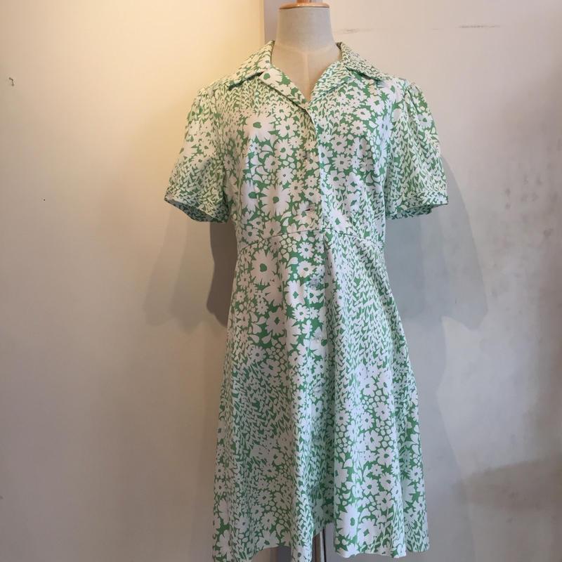 1960's~70's vintageマーガレットワンピース