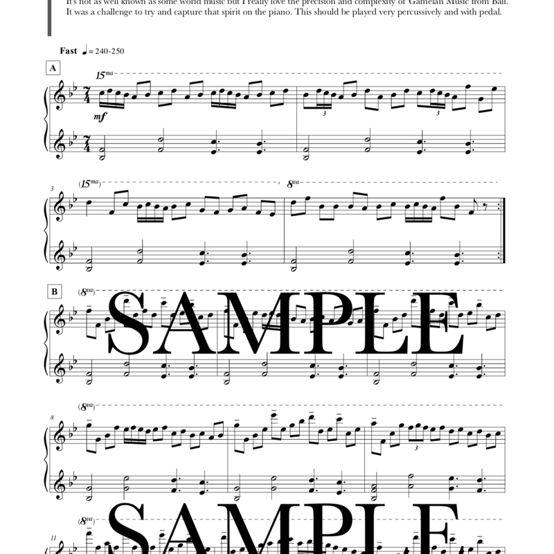 ジングルベル『バリ』PDF