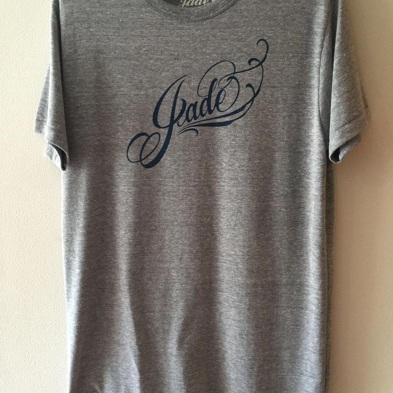 Jade ロゴTシャツ ヘザーグレー