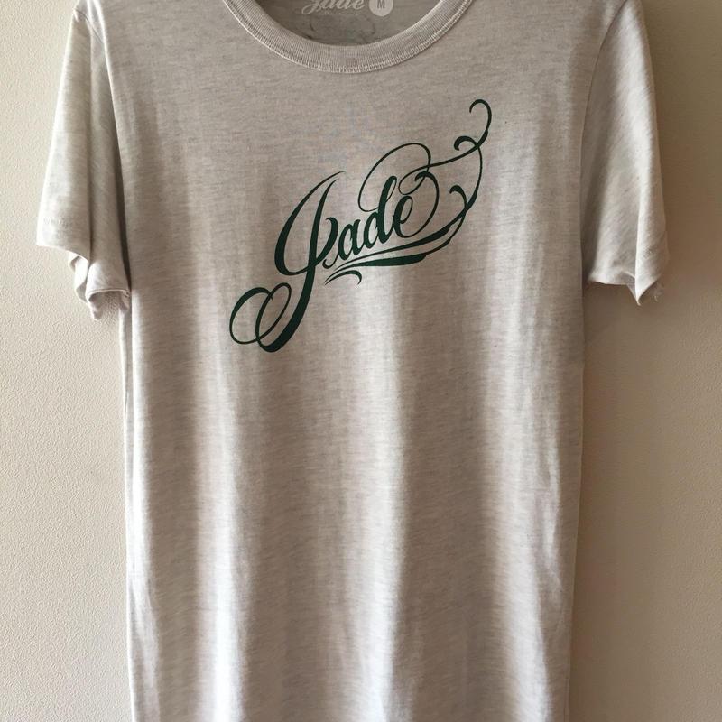 Jade ロゴTシャツ オートミール