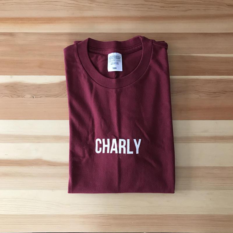 Tシャツ バーガンディ