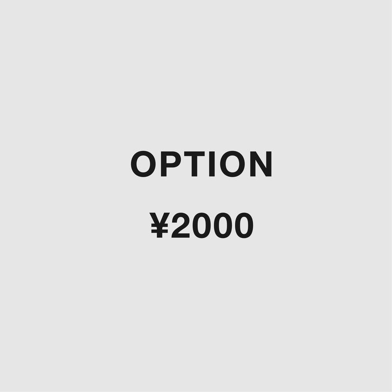 OPUTION:¥2,000