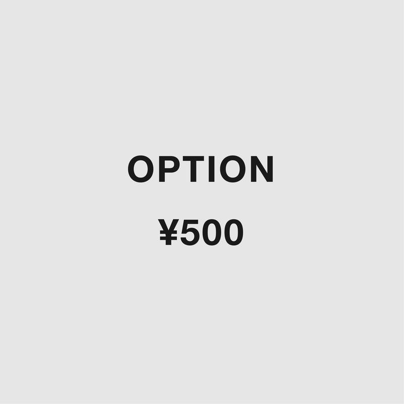 OPTION :¥500