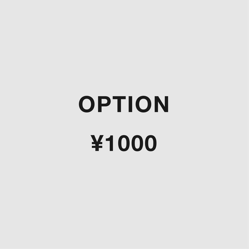 OPUTION:¥1,000