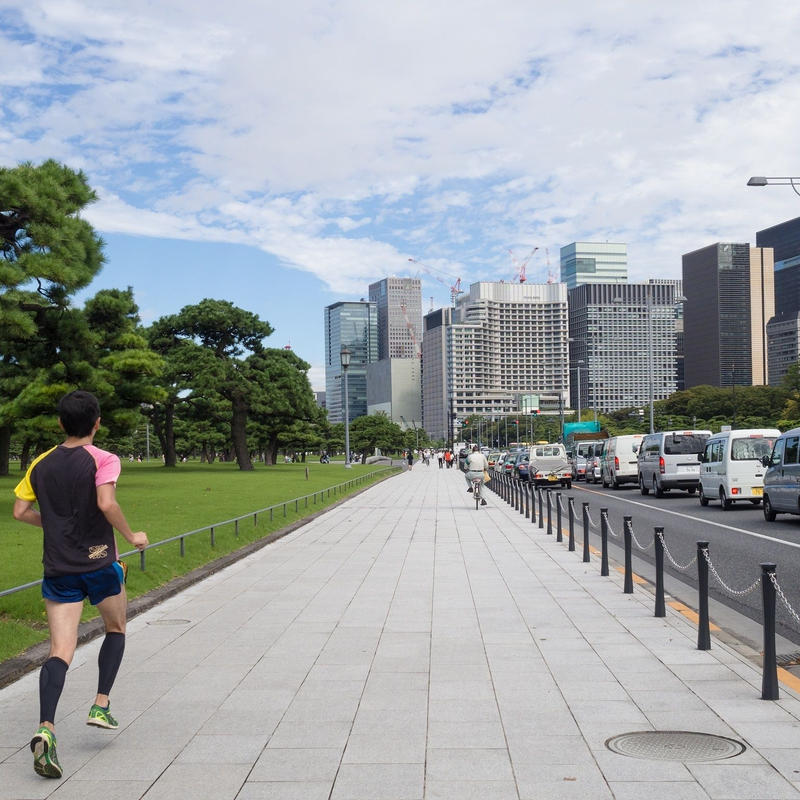Visit The Imperial Palace and refresh yourself with a lap around it