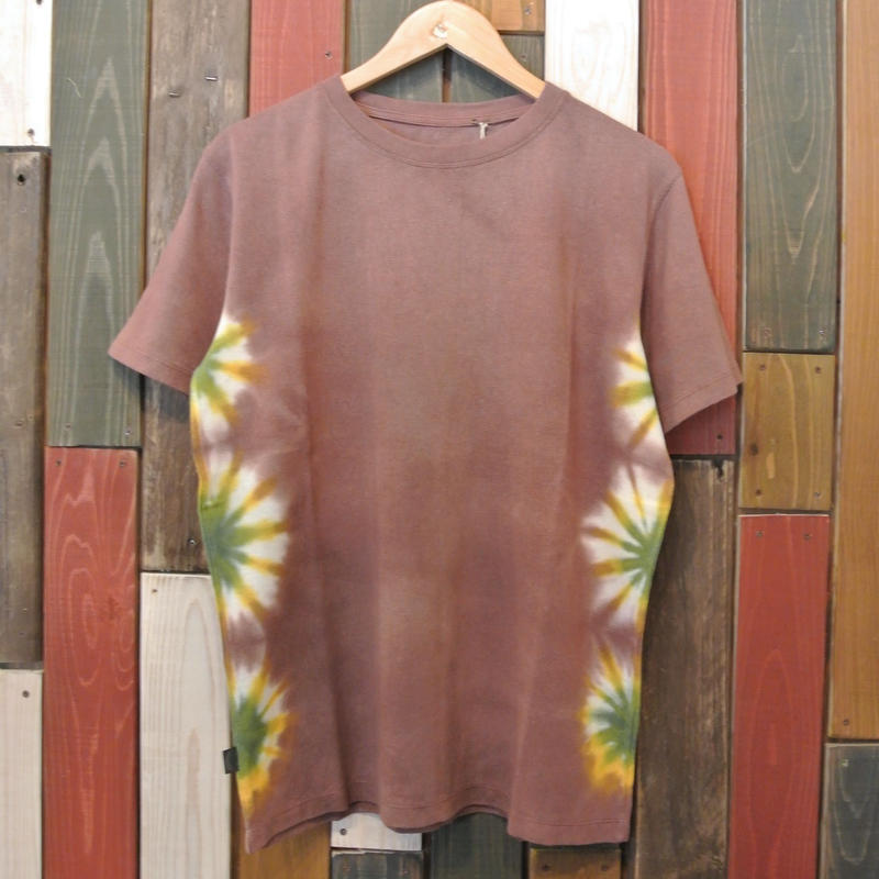 "JAVARA ""FLOWER LINE 02"" S/S (BROWN)"