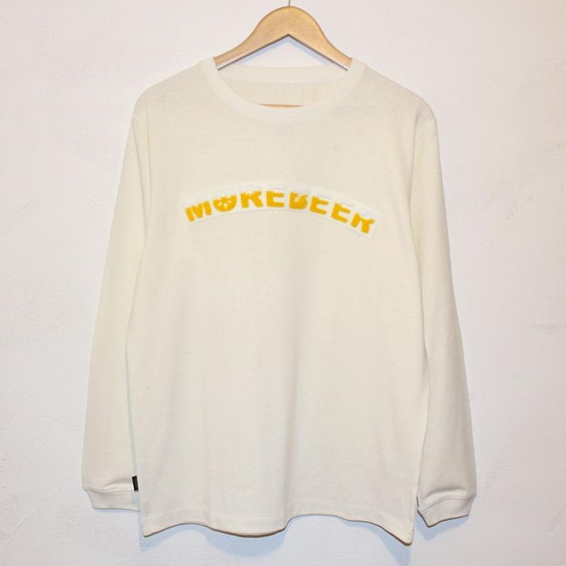 "JAVARA ""MORE BEER ARCH"" L/S (NATURAL)"