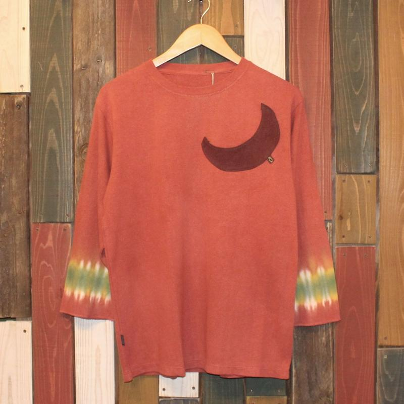 "JAVARA ""月"" 3/4SLEEVE (ORANGE)"
