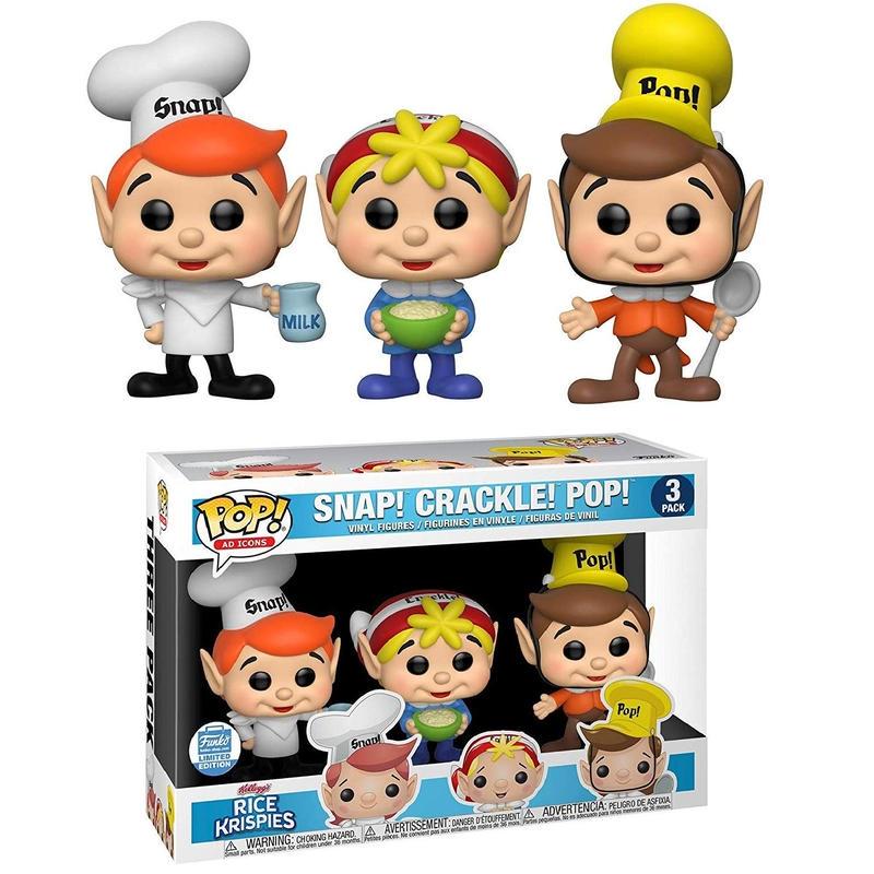ファンコ  ポップ   ケロッグ『スナップ!クラックル!ポップ!』  Funko Pop! Kellogg'sSnap! Crackle! Pop!