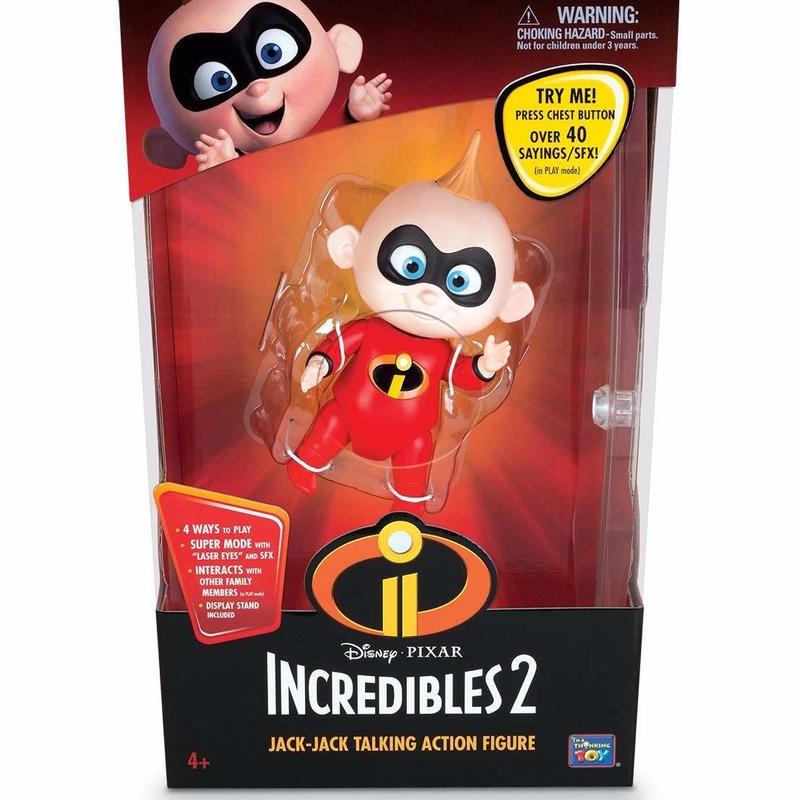 インクレディブル・ファミリー インタラクティブ ジャック・ジャック The Incredibles 2   Interactive Jack Jack Action Figure